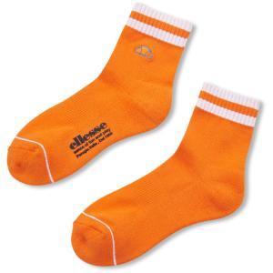 Ellesse エレッセ  Short Socks ショートソックス EAC00100L オレンジ spg-sports
