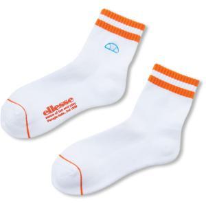 Ellesse エレッセ  Short Socks ショートソックス EAC00100L W*OR spg-sports