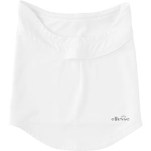 Ellesse(エレッセ) 3Dネックカバー レディース テニスウェア EAC8802L ホワイト|spg-sports