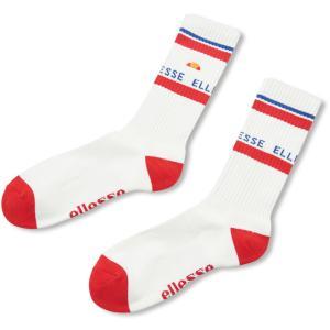 Ellesse エレッセ  スリクォーター ソックス 男女兼用 ユニセックス Threequarter Socks EHA00100 レッド|spg-sports