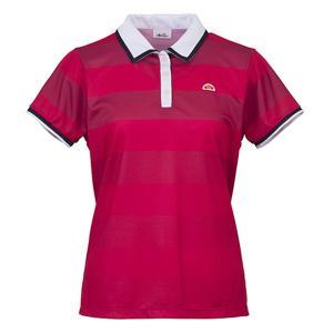 Ellesse(エレッセ) 【レディース テニス・バドミントンウェア】  ポロシャツ ETS0500L マゼンダ|spg-sports
