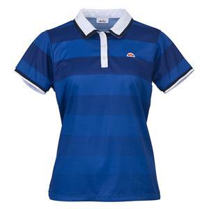 Ellesse(エレッセ) 【レディース テニス・バドミントンウェア】  ポロシャツ ETS0500L メトロBL|spg-sports
