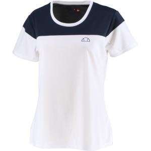 Ellesse エレッセ  ゲームシャツ レディース テニスウェア EW00122ZT ホワイト spg-sports
