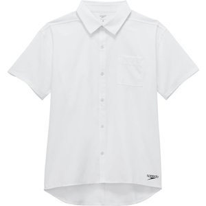 Speedo(スピード) ショートスリーブスタンダードシャツ SA51908 ホワイト|spg-sports
