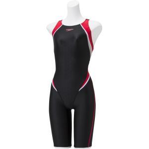 Speedo(スピード) フレックスシグマ2 セミオープンバックニースキン レディース 競泳用水着 Fina承認 S|spg-sports
