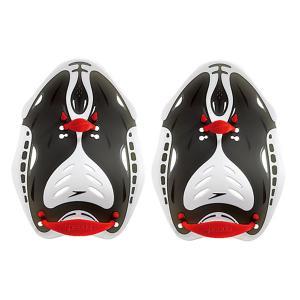 Speedo スピード  競泳用トレーニング用品  Biofuseパワーパドル SD91A01 レッド
