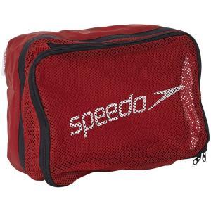 Speedo(スピード) 【スイムバッグ】 トラベルポーチ SD96B13 レッド
