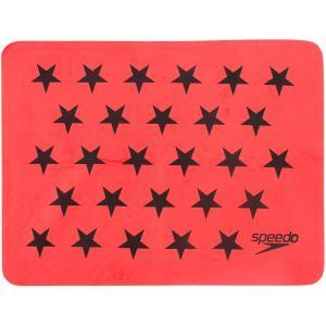Speedo(スピード) STARSセームタオル SE61951 レッド|spg-sports