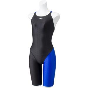Speedo(スピード) アシンメトリーニースキン 水着 水泳 水球 レディース SFW11935 Rブルー spg-sports