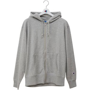 Champion(チャンピオン) TEAM FULL ZIP SWEAT PARKA C3PS160 オックスフォードGRY|spg-sports