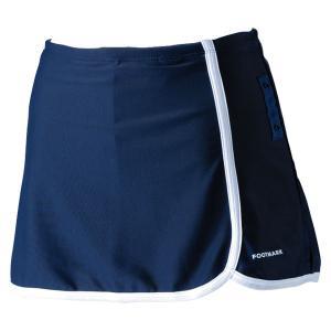 FOOTMARK フットマーク  すまいるスイム パイピングセパレーツ下 スカート付き  140、150cm 101588J1 コン|spg-sports