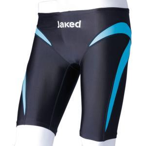 Jaked ジャケッド   Fina承認  JAKED J‐ELASTICO ST ハーフスパッツ メンズ・ボーイズ 競泳用水着 820041 ブルー|spg-sports