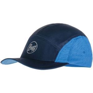 Buff(バフ) 帽子 キャップ ランニング RUN CAP R−FREQUENCE BLUE 344229|spg-sports