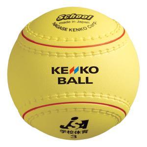 ケンコー KENKO  ケンコー 学校体育用ソフトボール 検定3号  KS12PUR|spg-sports