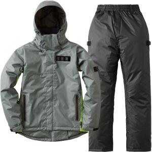 LIPNER(リプナー) バックパック防水防寒スーツ トニー ライトグレー L 30345212