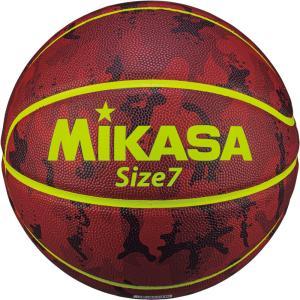ミカサ(MIKASA) バスケットボール 7号球 カモ柄 ブラウン B730YCFB spg-sports