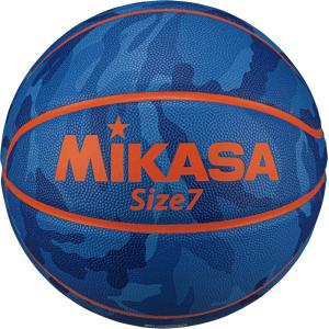 ミカサ(MIKASA) バスケットボール 7号球 カモ柄 ブルー B730YCFBL spg-sports