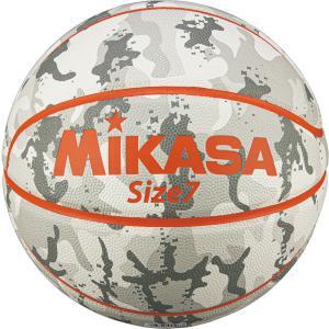 ミカサ(MIKASA) バスケットボール 7号球 カモ柄 ホワイト B730YCFW|spg-sports