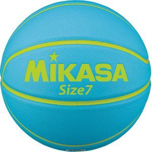 ミカサ(MIKASA) バスケットボール 7号球 カモ柄 ライトブルー B730YMCLB|spg-sports