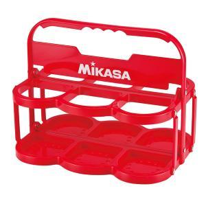 ミカサ(MIKASA) ボトルキャリアー(6本入) BC6 レッド|spg-sports