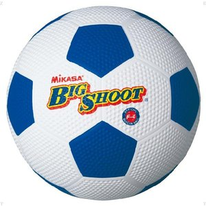 ミカサ(MIKASA) サッカーボール4号ゴム F4 ホワイト/ブルー spg-sports