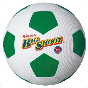 ミカサ(MIKASA) サッカーボール4号ゴム F4 ホワイト/グリーン spg-sports