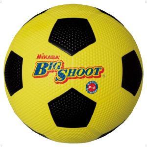ミカサ(MIKASA) サッカーボール4号ゴム F4 イエロー/ブラック spg-sports