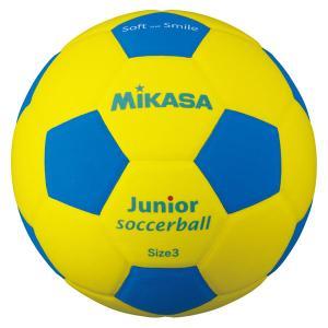 ミカサ MIKASA  スマイルサッカーボール 3号 YBL SF3JYBL|spg-sports