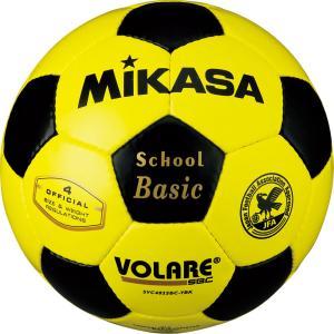 ミカサ(MIKASA) サッカーボール4号検定球 SVC402SBC キ/クロ|spg-sports