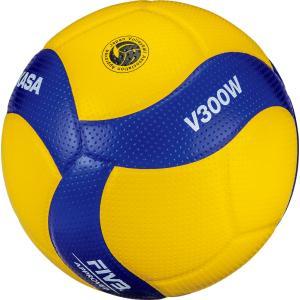 ミカサ MIKASA バレーボール国際公認球 検定球5号 V300W