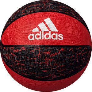 adidas(アディダス) バスケットボール シャドースクワッド 7号球 レッド×ブラック AB7123R|spg-sports