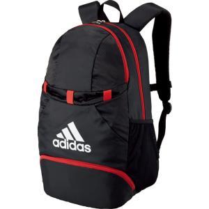adidas(アディダス) ボール用デイパック ブラック×レッド ADP28BKR|spg-sports