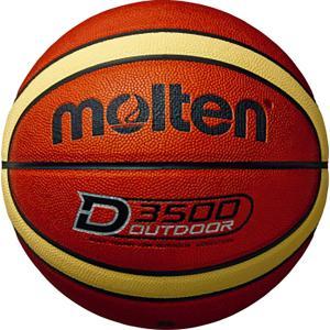 モルテン(Molten) アウトドアバスケットボール7号球 ブラウン×クリーム B7D3500|spg-sports
