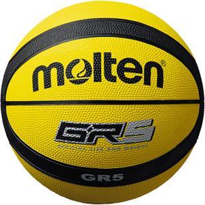 モルテン(Molten) バスケットボール5号球 GR5 イエロー×ブラック BGR5YK|spg-sports