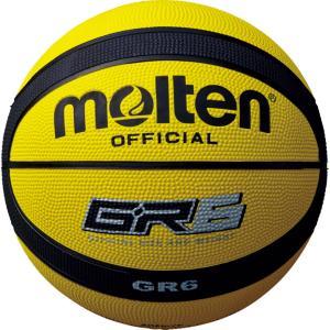モルテン(Molten) バスケットボール6号球 GR6 イエロー×ブラック BGR6YK spg-sports