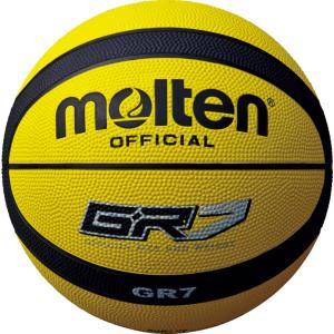 モルテン Molten バスケットボール7号球 GR7 イエロー×ブラック BGR7YK