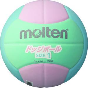 モルテン(Molten) モルテン ドッジボール2200 軽量1号 ピンク×シアン×ライム D1S2200LC|spg-sports