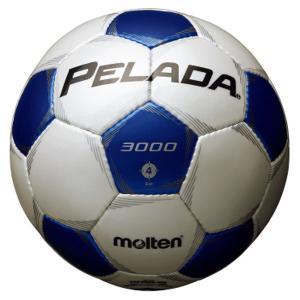 モルテン(Molten) ペレーダ3000 4号球_シャンパンシルバー×メタリックブルー F4P3000WB|spg-sports