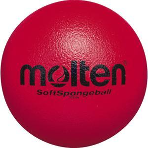 モルテン Molten ソフトスポンジボール 赤 STS16R