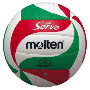 モルテン Molten ソフトサーブ軽量 4号球(体育・授業用) V4M3000L