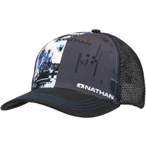 NATHAN ネイサン  キャップ Runnable Trucker NS2070 ブラック spg-sports