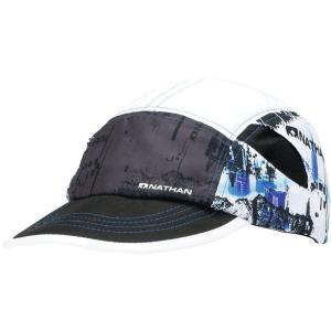 NATHAN ネイサン  キャップ Quick Stash Run Hat NS2071 ブラック spg-sports