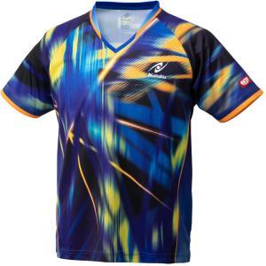 ニッタク Nittaku 卓球ユニフォーム スカイレーザーシャツ NW2203 ブルー|spg-sports