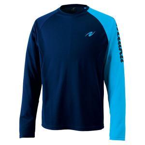 ニッタク(Nittaku) ロングAS Tシャツ NX2074 ブルー|spg-sports