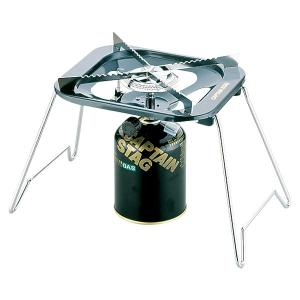 CAPTAIN STAG(キャプテンスタッグ) 大型五徳ガスバーナーコンロ(収納バッグ付)M−880...