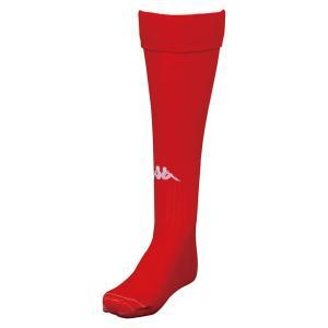 Kappa カッパ  ストッキング KFEA7123 靴下 ソックス サッカー フットサル KFEA7123 レッド|spg-sports