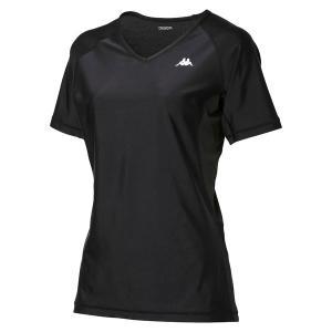 Kappa(カッパ) ショートスリーブコンプレッションシャツ KM512UT70 BK1 spg-sports