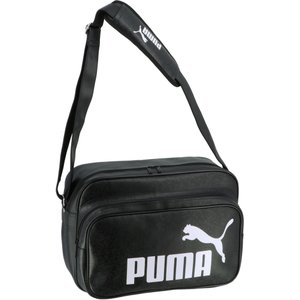 PUMA プーマ  トレーニング PU ショルダー M 075370 01BLACK-WHIT|spg-sports