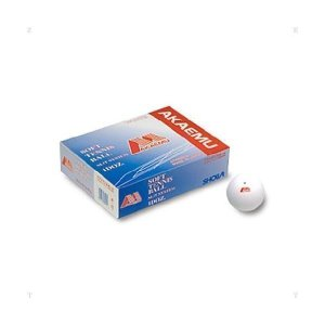 LUCENT(ルーセント) ソフトテニスボール アカエムS 試合球 ホワイト 1ダース M30000|spg-sports