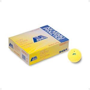 LUCENT(ルーセント) ソフトテニスボール アカエム プラクティスイエローS 練習球 1ダース(12個) M4030 spg-sports